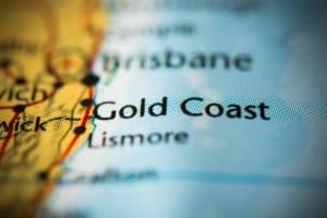 Gold Coast on the map